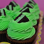 Mint Cookie Cupcake